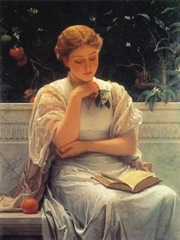 Charles-Edward-Perugini-Girl-reading-15692