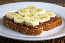 Banana and Nutella Sandwich 500